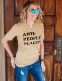 Anti- Peopley Places - TheBBtee Shirts, theBBtee, TheBBtee
