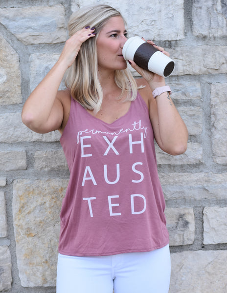 Permanently Exhausted - TheBBtee Tanks, TheBBtee, TheBBtee