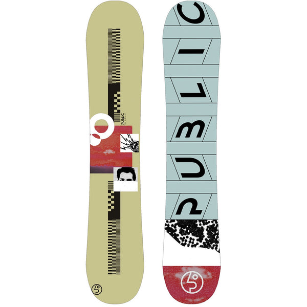 Public snowboards display 153 darell mathes pro model snowboard france