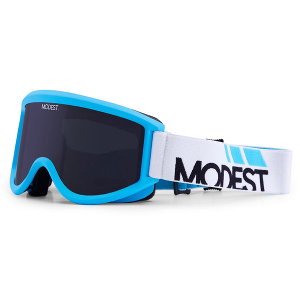 Modest eyes team goggle blue masque de snowboard