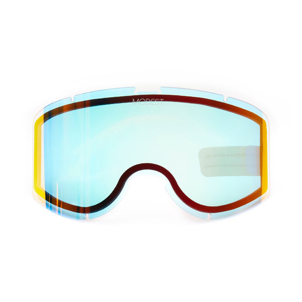 Modest eyes team goggle kale masque de snowboard