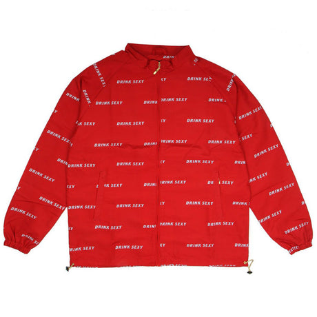 All over Jacket « red »