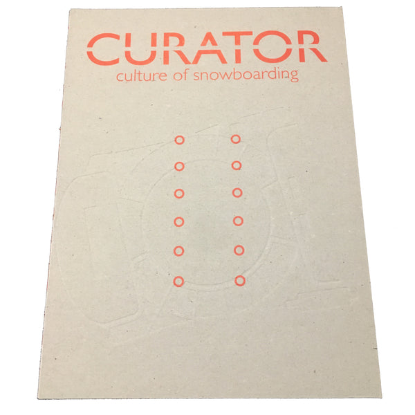 Curator Vol.1 - Culture of snowboarding
