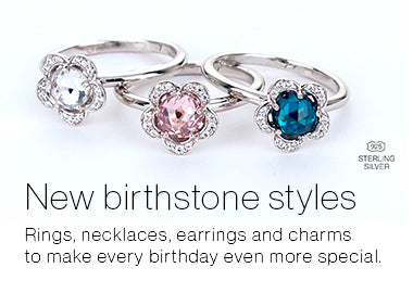 Birthstones Charms Collection by Persona