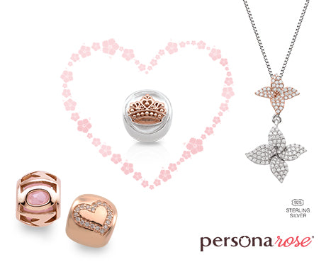 Persona Rose Charms & Jewelry