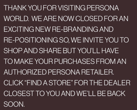 THANK YOU FOR SHOPPING AT PERSONA WORLD
