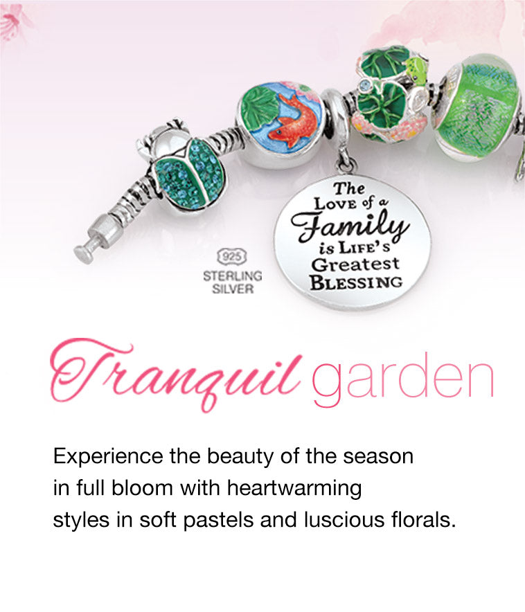 Tranquil Garden Spring charms