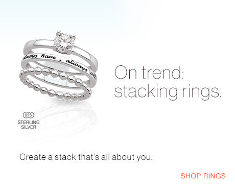 Trending: Stackable Rings