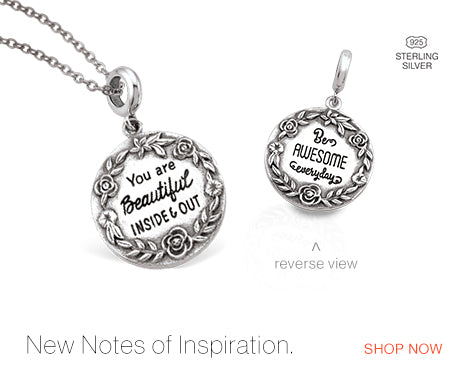 NEW! Notes of Inspiration Charms