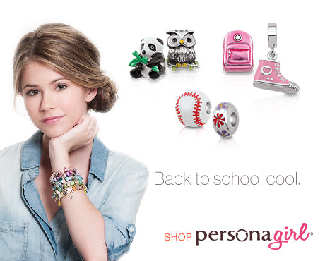 Back To School with PersonaGirl® Charms