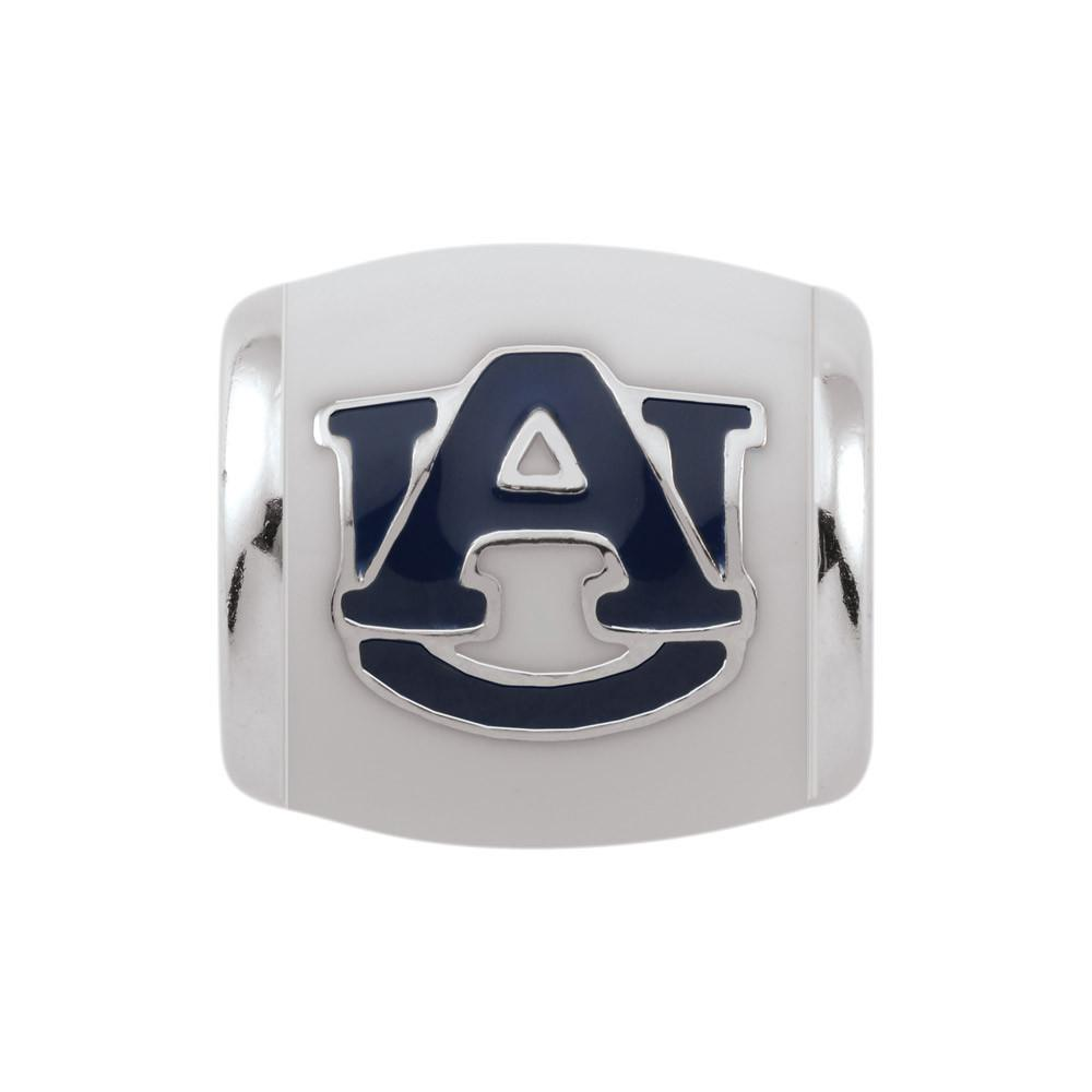 Auburn U Spirit White Campus Life Charms Sterling Silver Enamel Collegiate collection  Auburn University