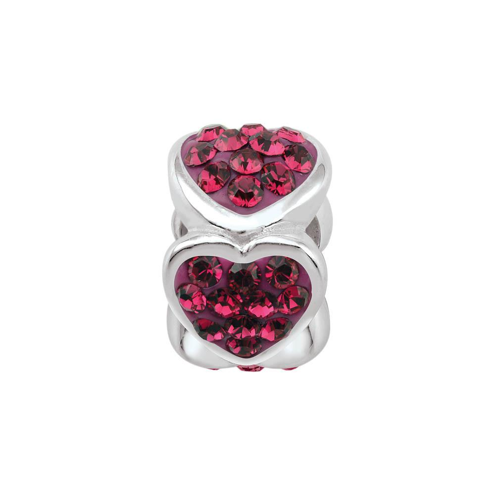 PersonaGirl July Birthstone Colored Hearts