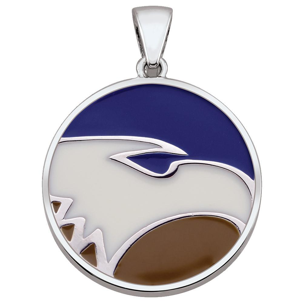 Georgia Southern U Pendant Campus Life style Necklaces Sterling Silver Enamel Collegiate collection  Georgia Southern University