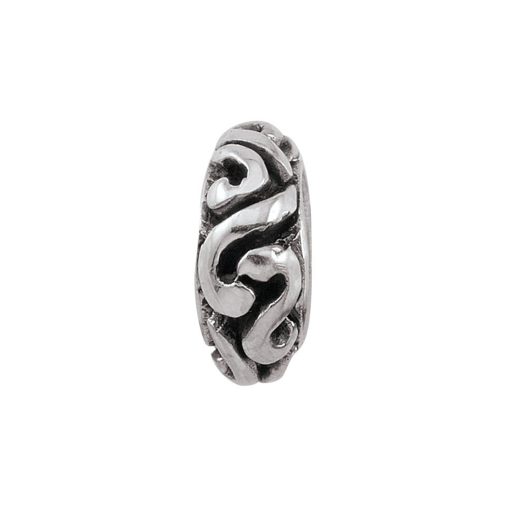 Elegant Spacer Persona Jewelry style Beads parentcolor Silver