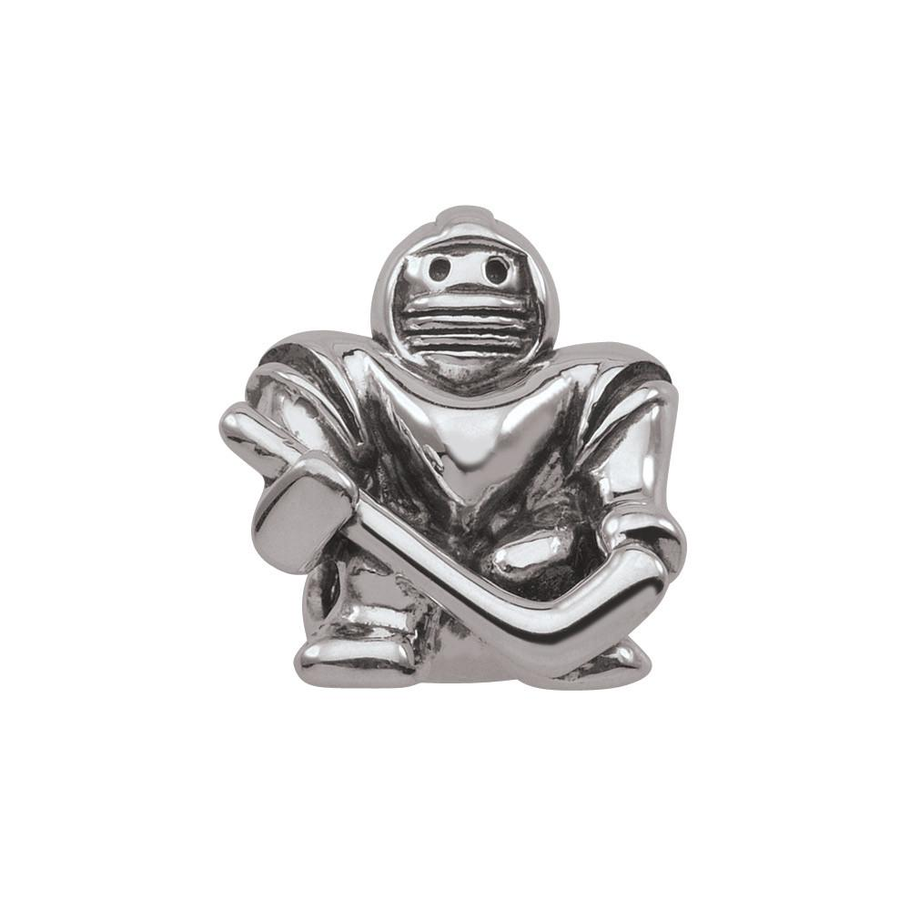 Hockey Goalie Persona Jewelry style Beads parentcolor Silver