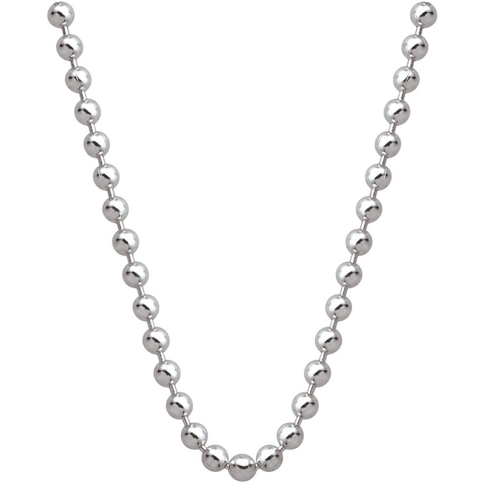 Sterling Silver Ball Chain