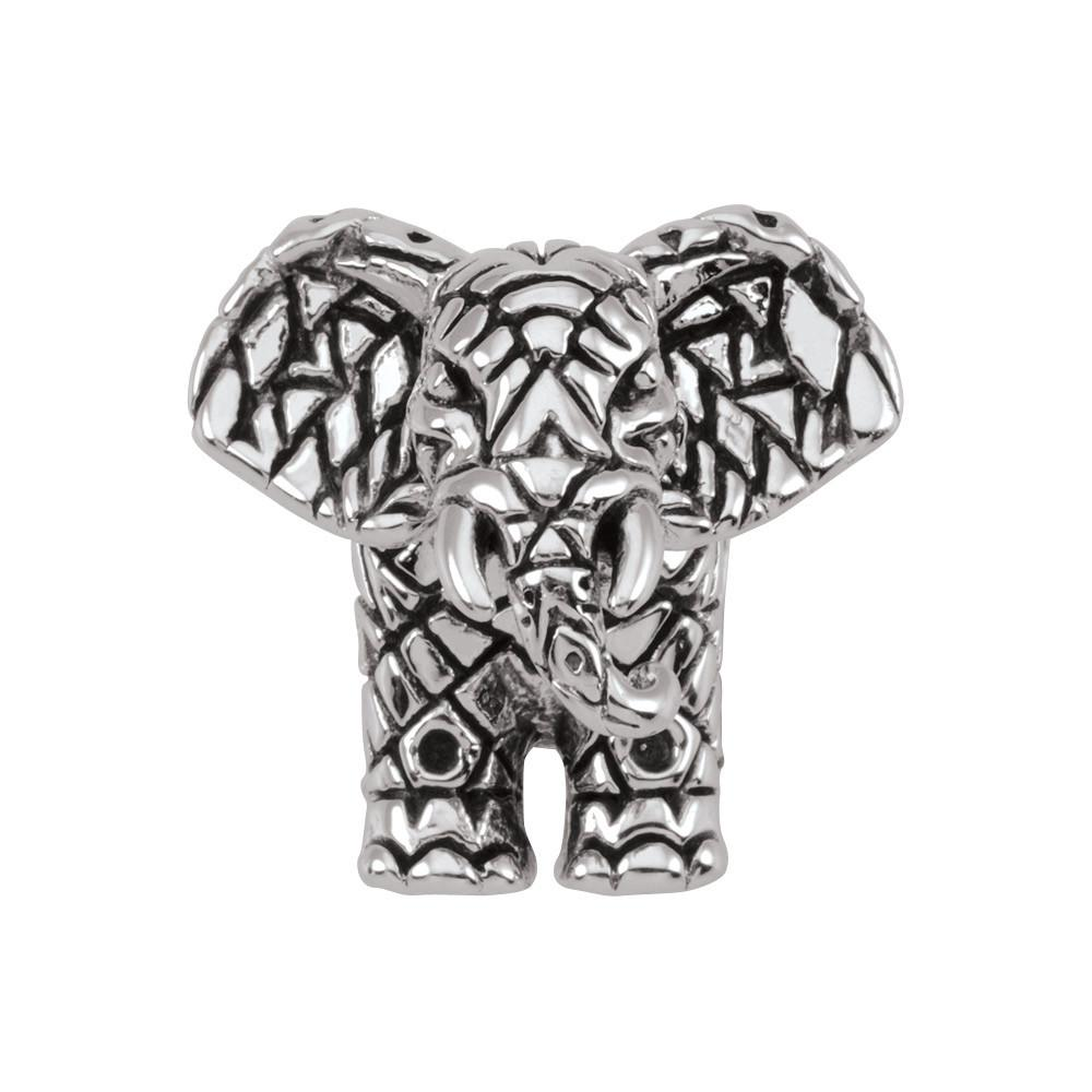 Tribal Elephant Persona Jewelry style Beads parentcolor Silver