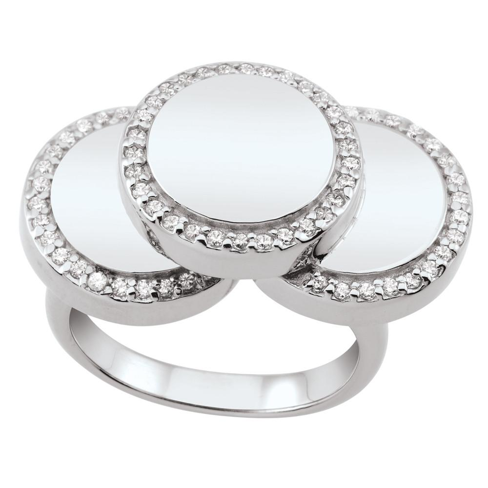 Cascading Disc Ring