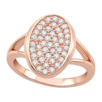 Rose Oval Ring