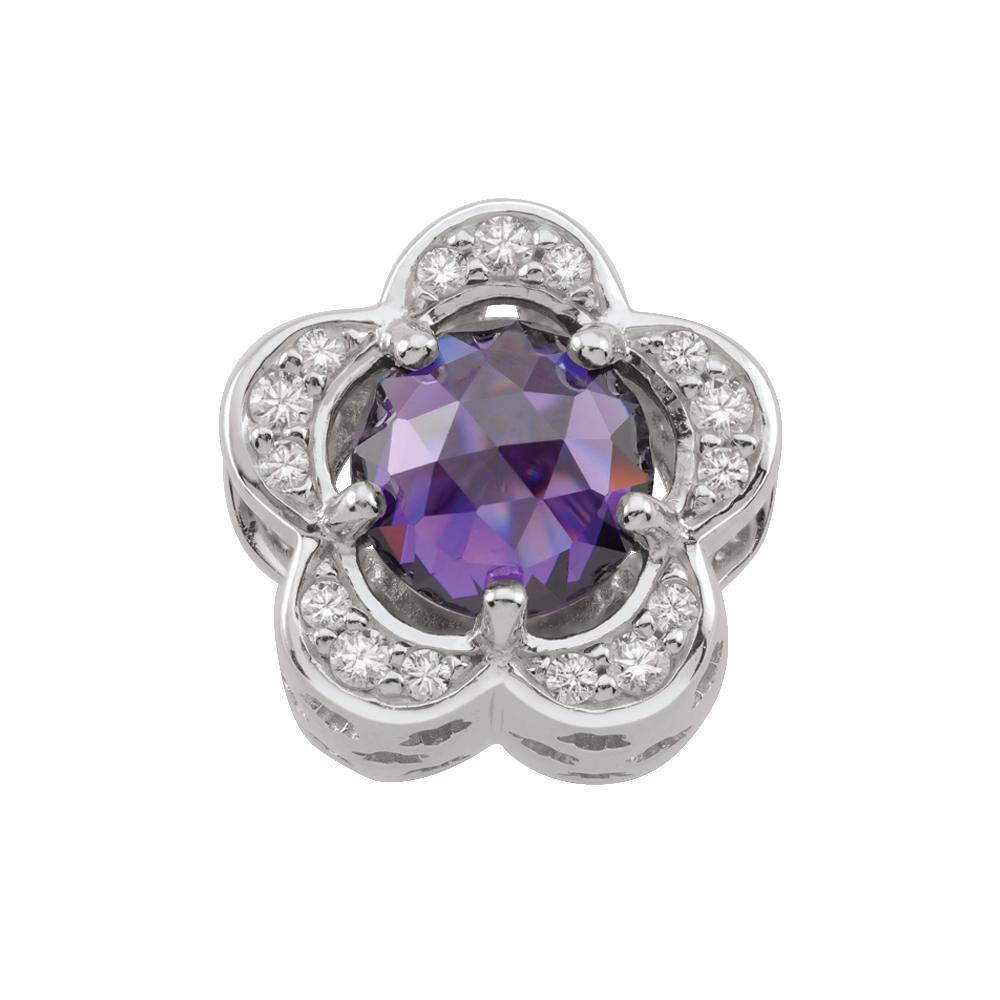 Birthstone February Flower