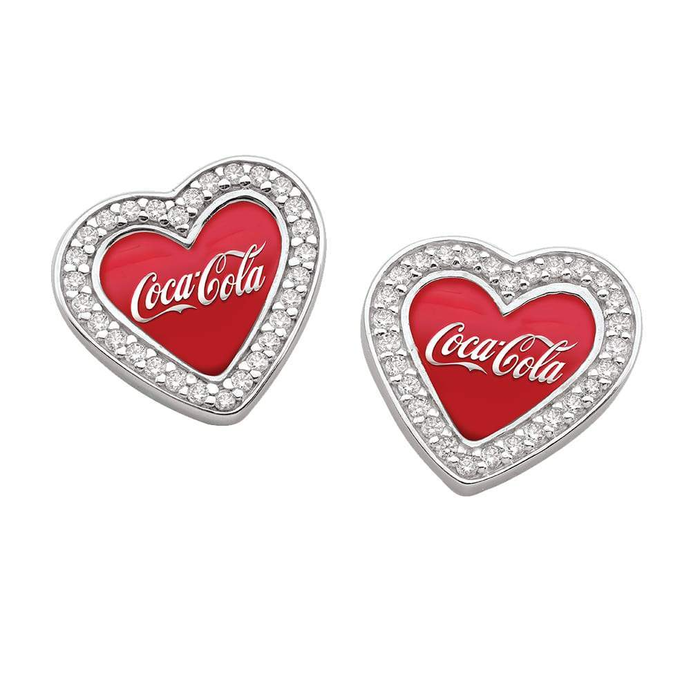 Coca Cola Earrings Red Studs Persona