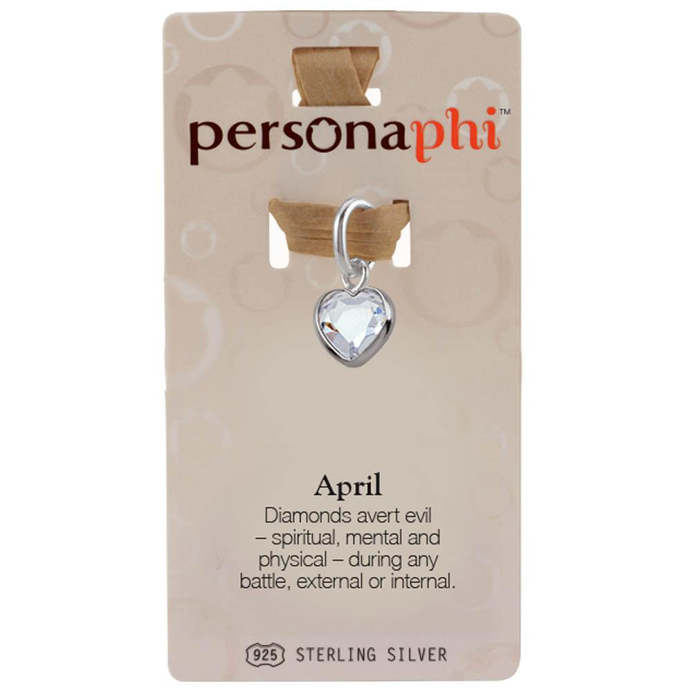 April Birthstone Amulet color White Persona jewelry