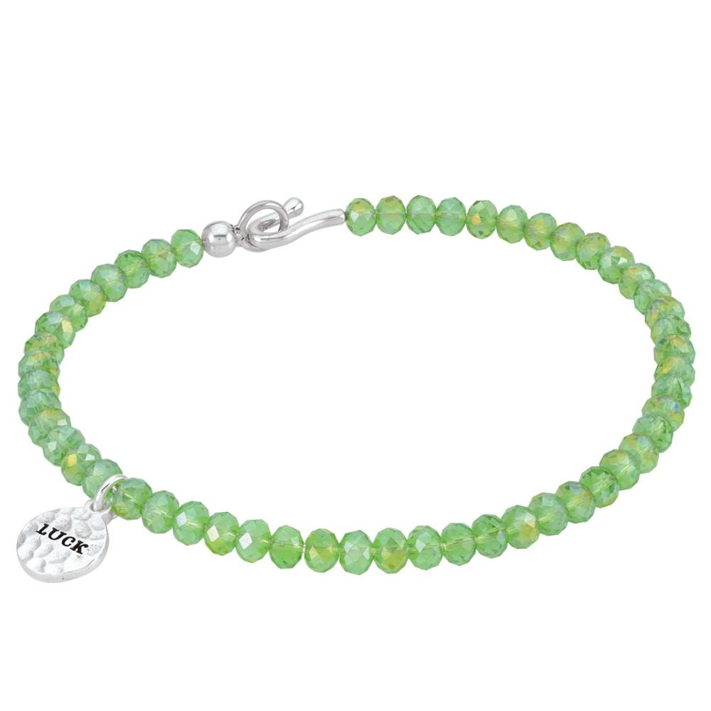 Green Luck Bangle PersonaPhi  Bracelets color Green