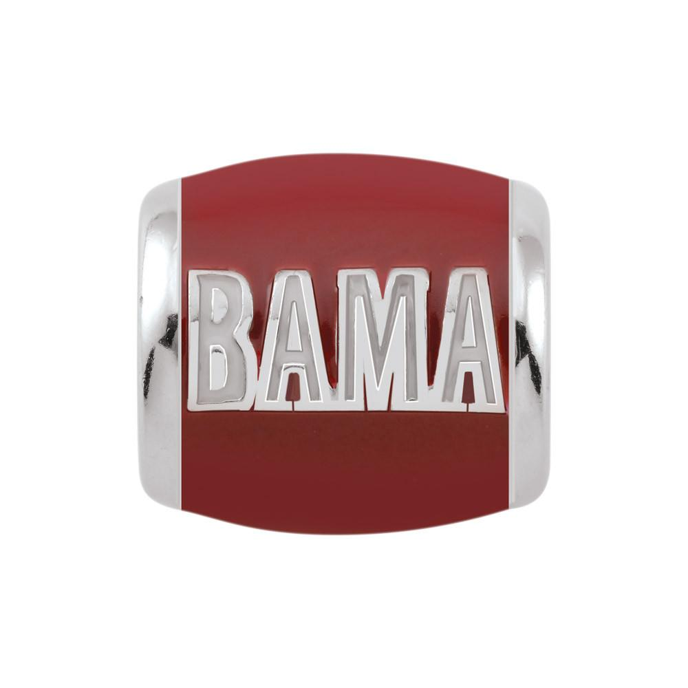 Go Bama! Campus Life Charms Sterling Silver Enamel Collegiate collection  University of Alabama