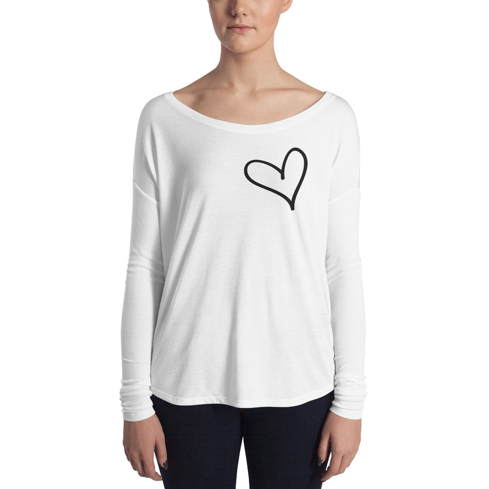 Heart on my Heart- flowy top ;)