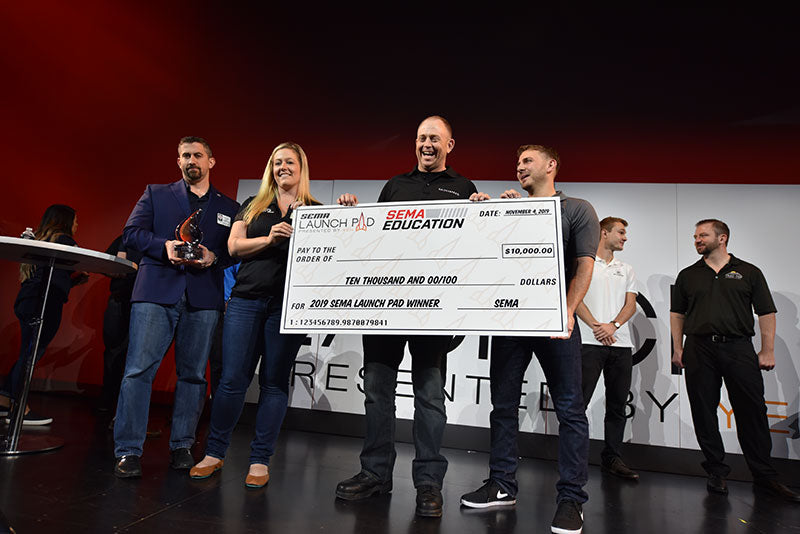 Kaizen Speed Wins 2019 SEMA Launchpad Competition!