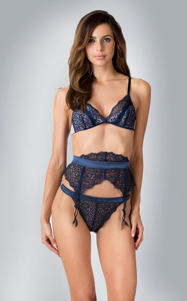 Akiko-Ogawa-Lingerie-Lookbook-Lustre-LGA8024-LGA8026-LGA8027-Midnight-blue