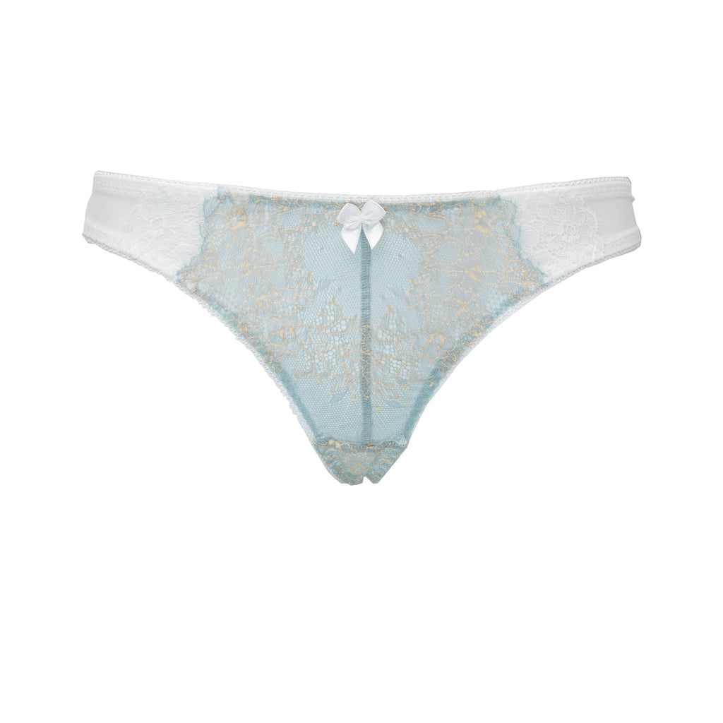 ECLIPSE | Lace tanga - MINT