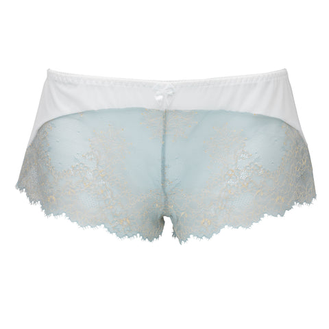 ECLIPSE | Lace boxer shorts - MINT