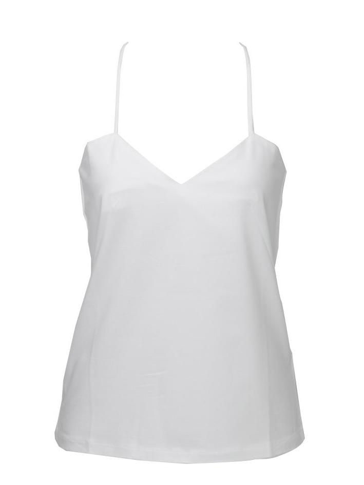 ECLIPSE | Back lace Camisole - WHITE