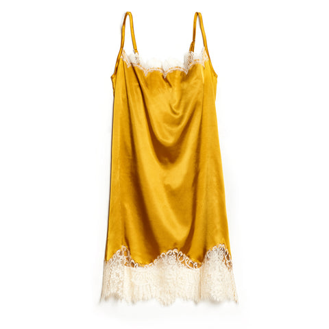 SCANDALOUS CHIC | Slip Dress - Gold