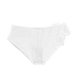 Akiko Ogawa Lingerie 2017S/S LUX White Motif Hipster Brief Back