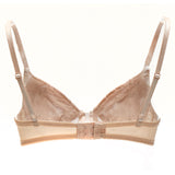 Akiko Ogawa Lingerie | Seduction - Molded push-up Bra - Beige - Back