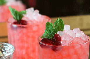 Cranberry & Ginger Mule Mocktail
