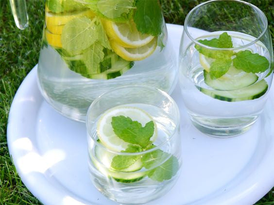 Lemon, Cucumber & Mint