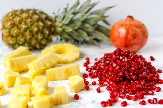 Pineapple & Pomegranates