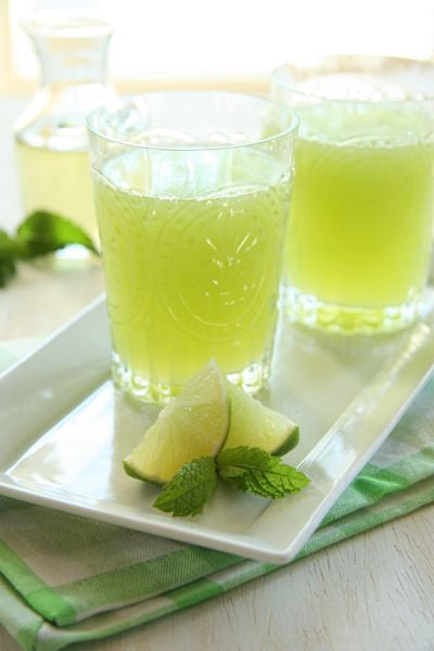 Honeydew Mojito Mocktail