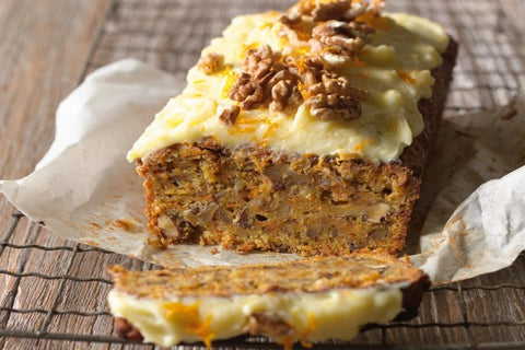 Use leftover fruit & veg in cake - anything goes