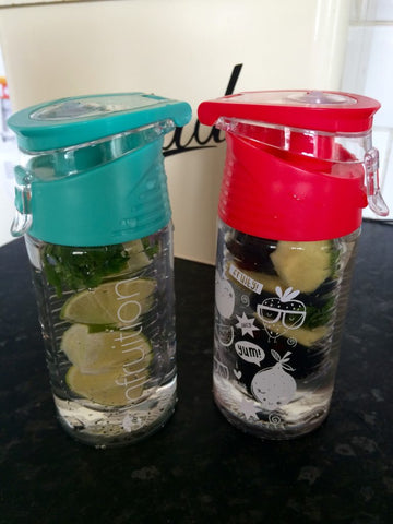 Infruition Kids & Mini Fruit infusing water bottles
