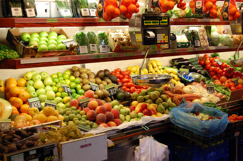 Shop locally for loose fruits & veg