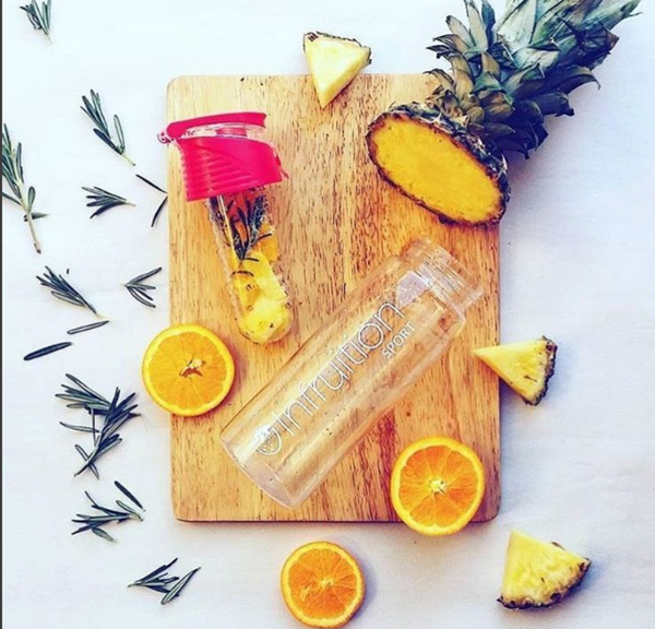 Pineapple & Rosemary Infused Water