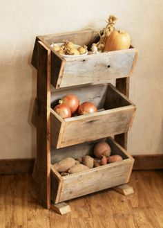 The right Storage can help extend the life of fruit & veg