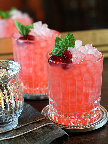 Cranberry, Mint & Ginger Mocktail