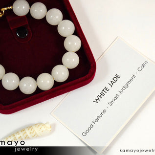 White Gemstone Jewelry