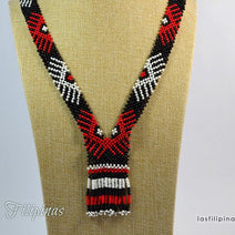 "TRIBAL BEADED NECKLACE <span class=""subtitle"">- Ethnic Mandaya Jewelry </span>"