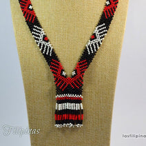 Tribal Beaded Necklace - Ethnic Mandaya Jewelry